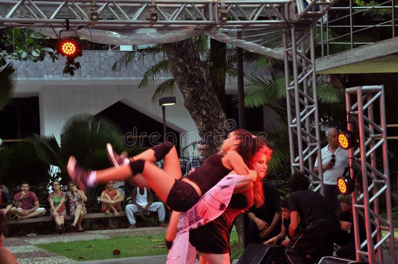 Bahia Dance Festival fotografie stock libere da diritti