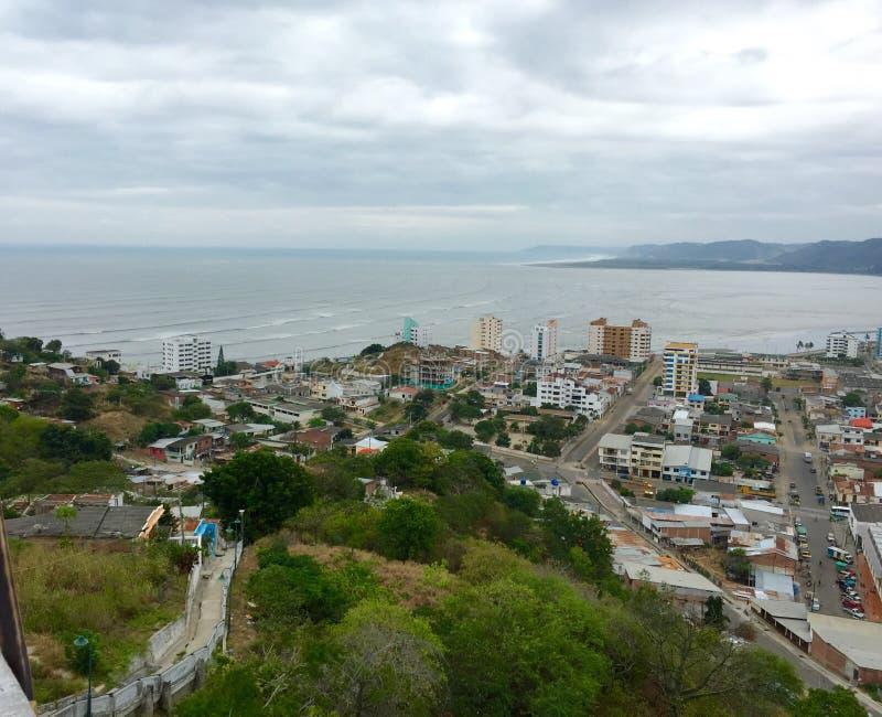 Bahia De Caraquez, Ekwador obraz stock