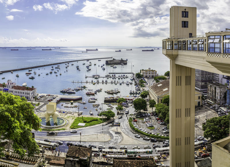 Bahia DE Todos os Santos royalty-vrije stock foto
