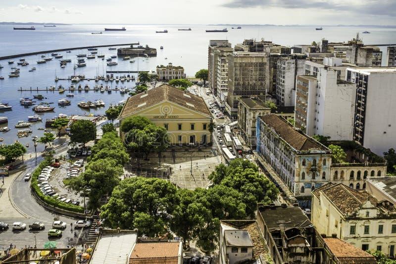 Bahia DE Todos os Santos stock afbeelding