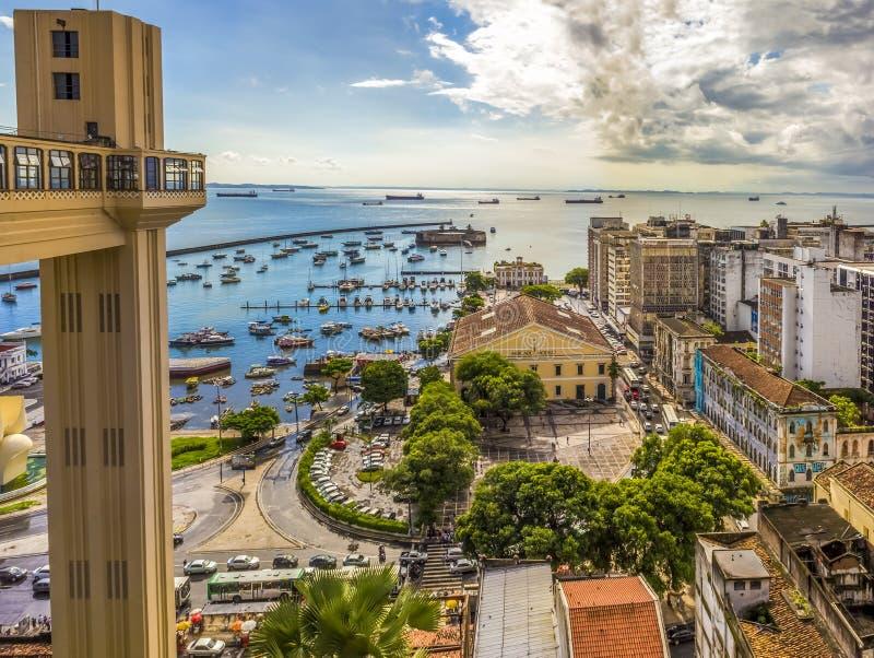 Bahia de Todos os Santos royalty free stock image