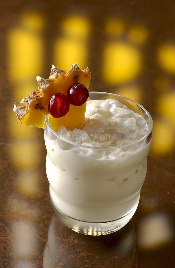 bahia drinkwhite royaltyfria bilder