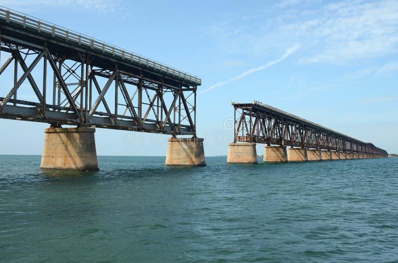 Bahia Honda Train Bridge 2 imagem de stock royalty free