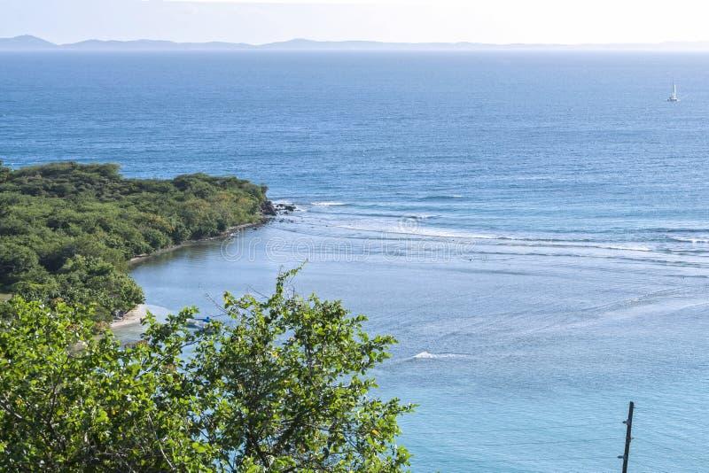Bahia Linda de Isla Culebra imagen de archivo libre de regalías