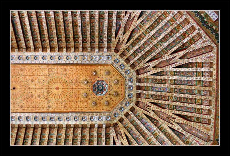 bahia Morocco pałacu fotografia royalty free
