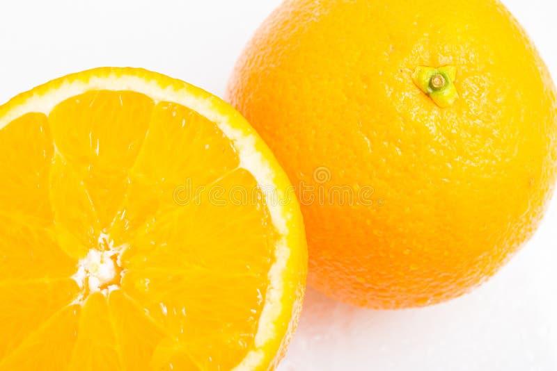 Bahia Navel Orange Fruit arkivfoton