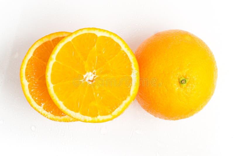 Bahia Navel Orange Fruit royaltyfri fotografi