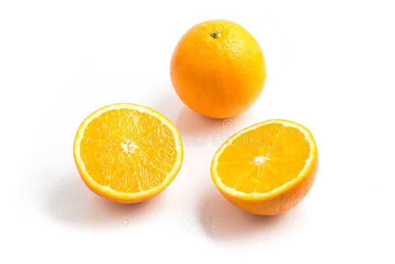 Bahia Navel Orange Fruit royaltyfria bilder