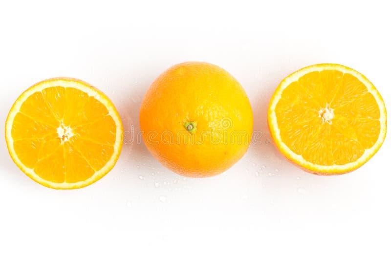 Bahia Navel Orange Fruit arkivbilder