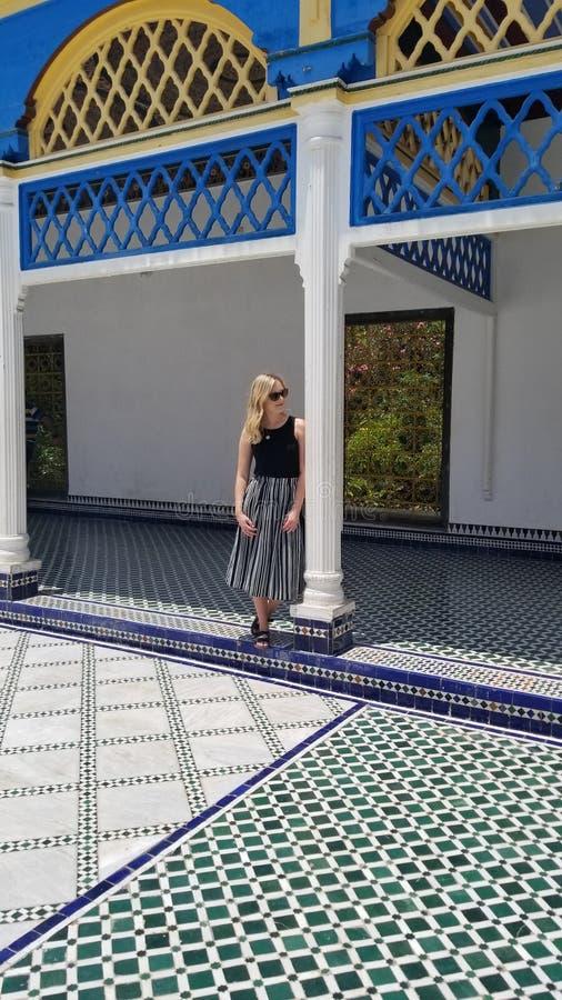 Bahia Palace fotografia de stock