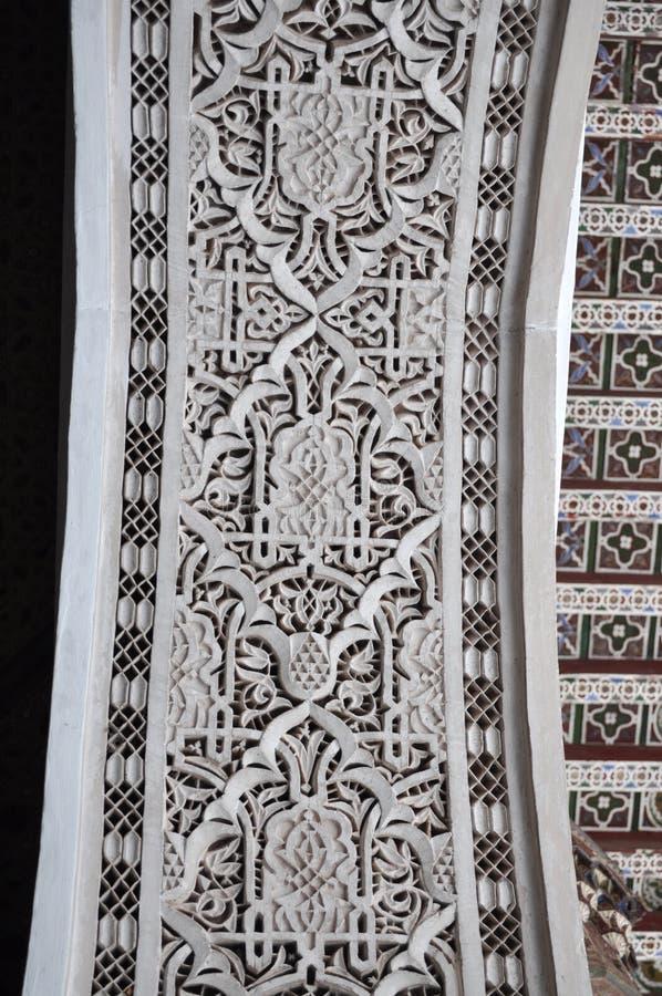 Bahia Palace Interior Decoration Stock Image