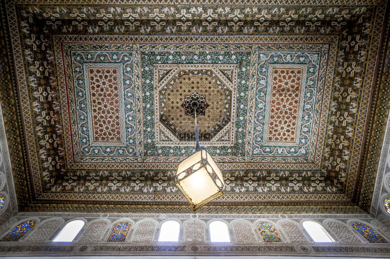 Bahia Palace interior stock photos
