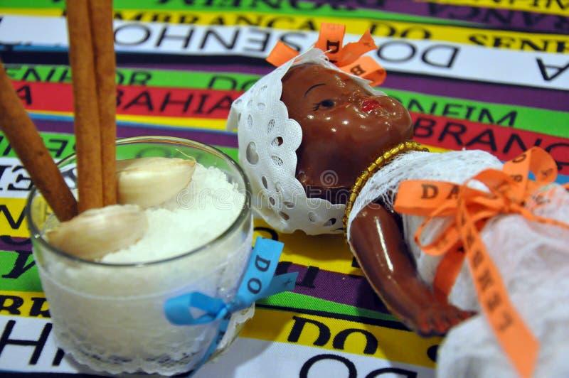 Bahia religii kulturalni symbole fotografia stock