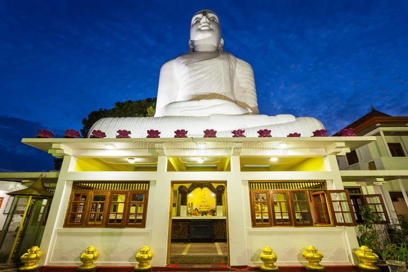 Bahirawakanda Vihara菩萨雕象 免版税库存照片