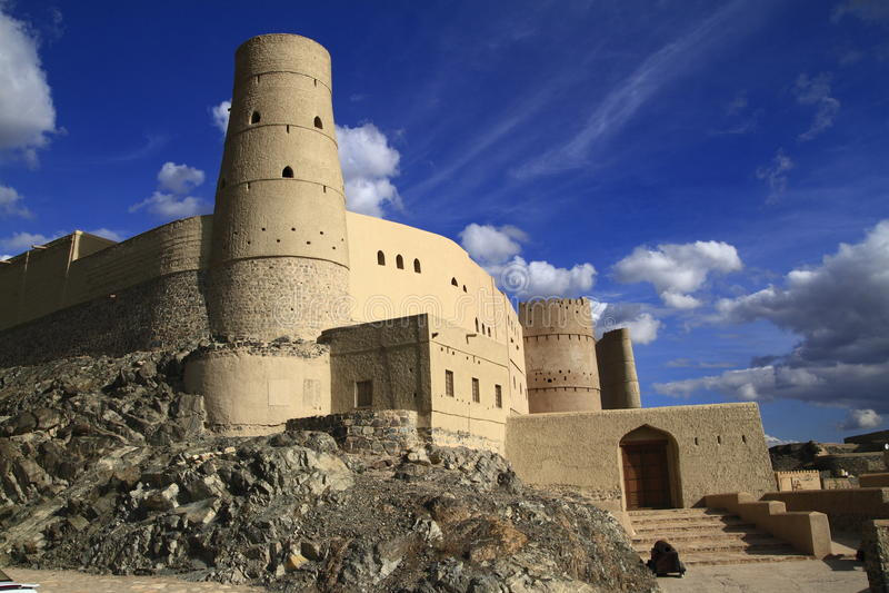 Bahla堡垒 免版税库存图片