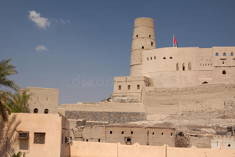 Download Bahla Fort stock image. Image of middle, building, fort - 21973975