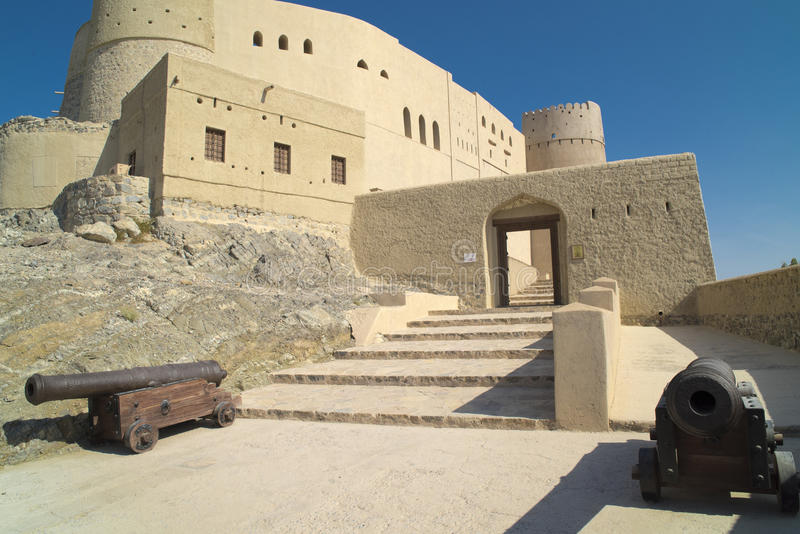 Bahla fort, Oman zdjęcie stock