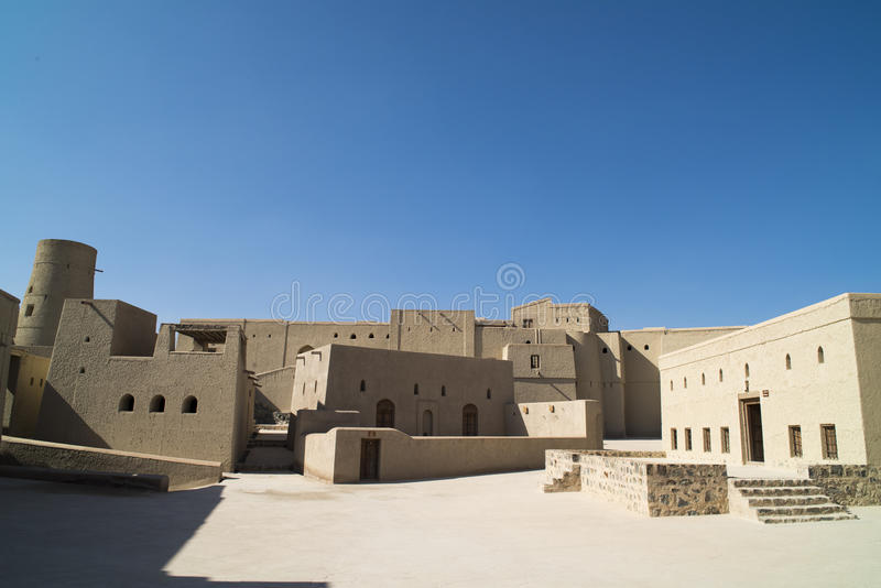 Bahla Fort, Oman royalty free stock photography