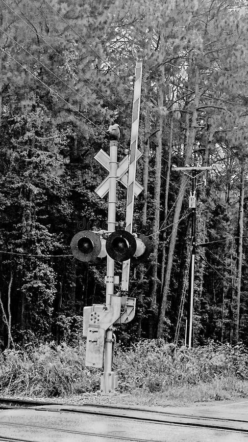 Bahnübergang lizenzfreies stockfoto