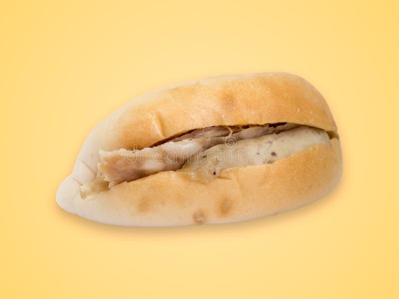 Bahn Mi Vietnamees sandwichbrood met varkensvlees royalty-vrije stock foto's