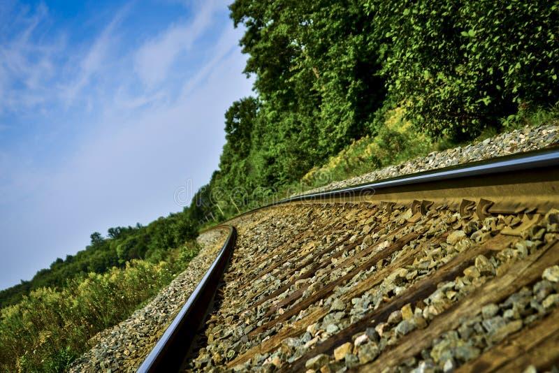 Bahngleise stockfotografie