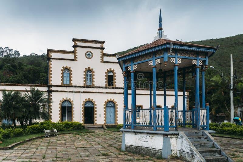 Bahnhof bei Ouro Preto, Brasilien stockfotos