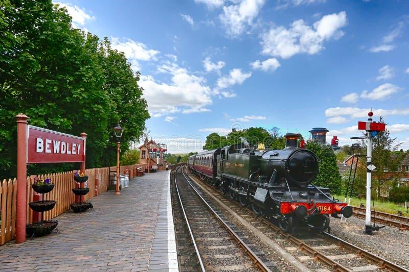 Bahnhof Bewdley lizenzfreie stockfotografie