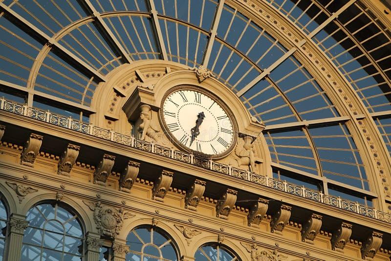Bahnhof Keleti in Budapest lizenzfreie stockbilder