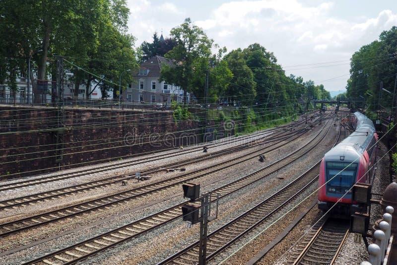 Bahnhof in Offenburg, Deutschland lizenzfreie stockfotografie