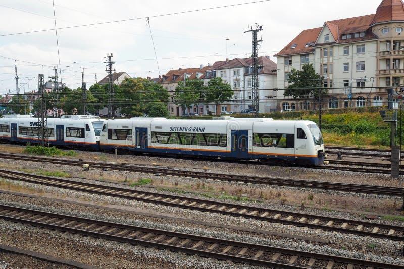 Bahnhof in Offenburg, Deutschland stockfoto