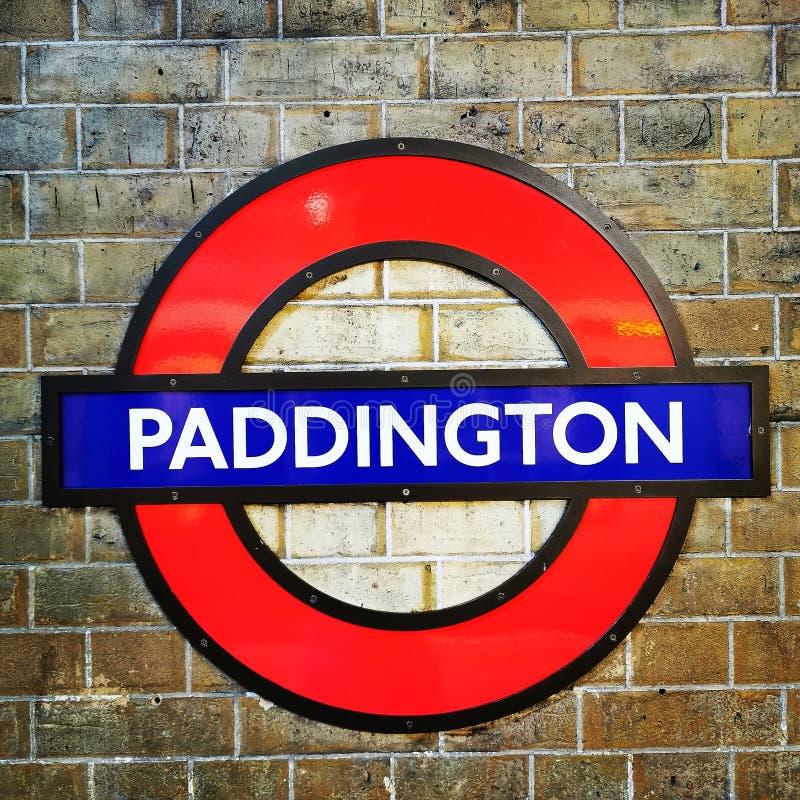 Bahnhof Paddington stockbilder