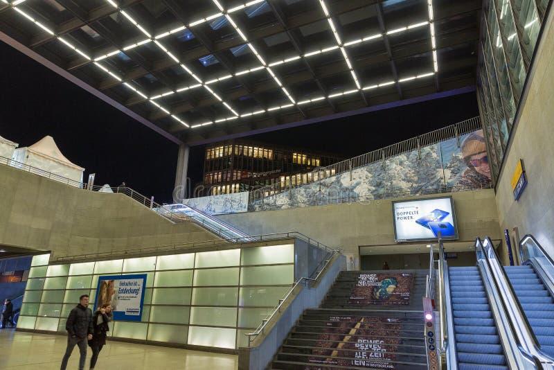 Bahnhof Potsdamer Platz station in Berlin, Germany royalty free stock photo