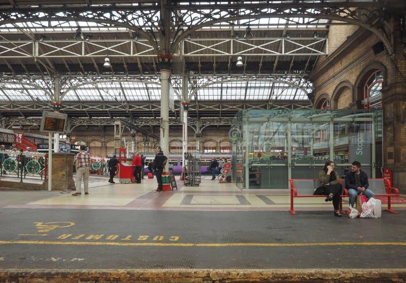 Bahnhof in Preston lizenzfreies stockfoto