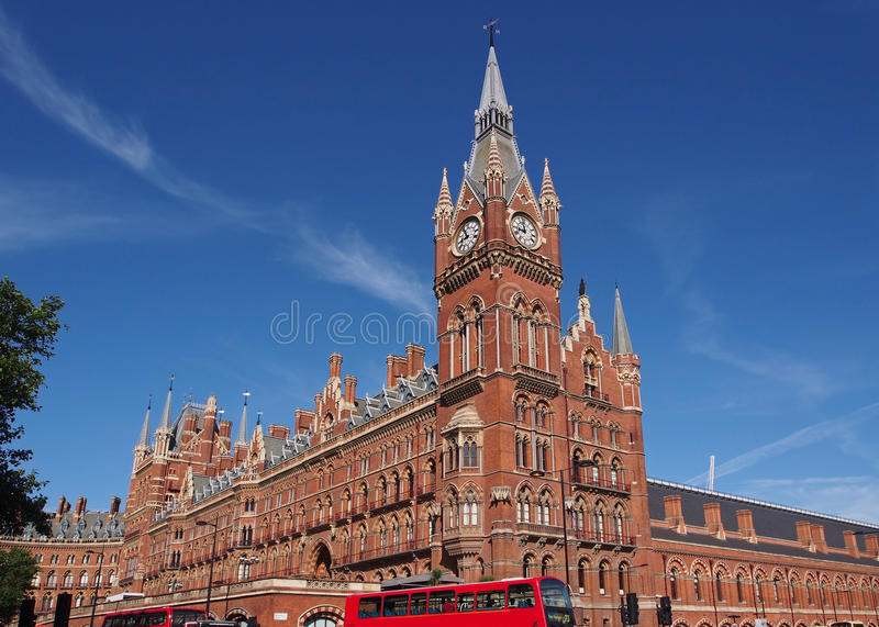 bahnhof st pancras london stockbild bild von england 58095061. Black Bedroom Furniture Sets. Home Design Ideas