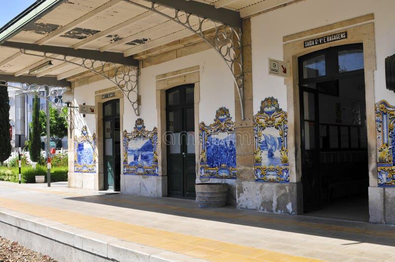 Bahnhof von pinhao lizenzfreies stockbild