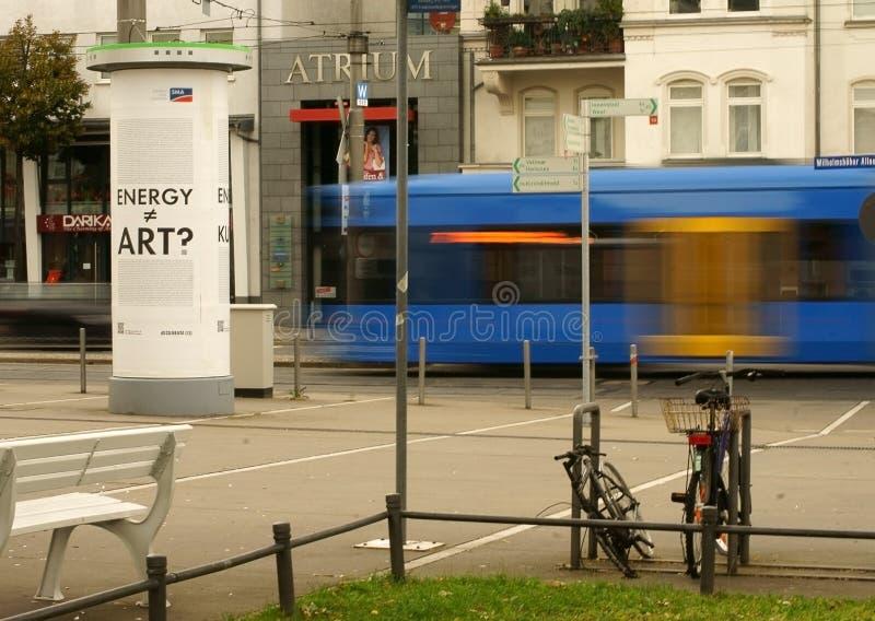 Bahnhofsvorplatz Kassel lizenzfreies stockbild