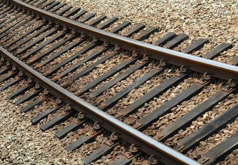 Bahnnahaufnahme lizenzfreie stockfotos