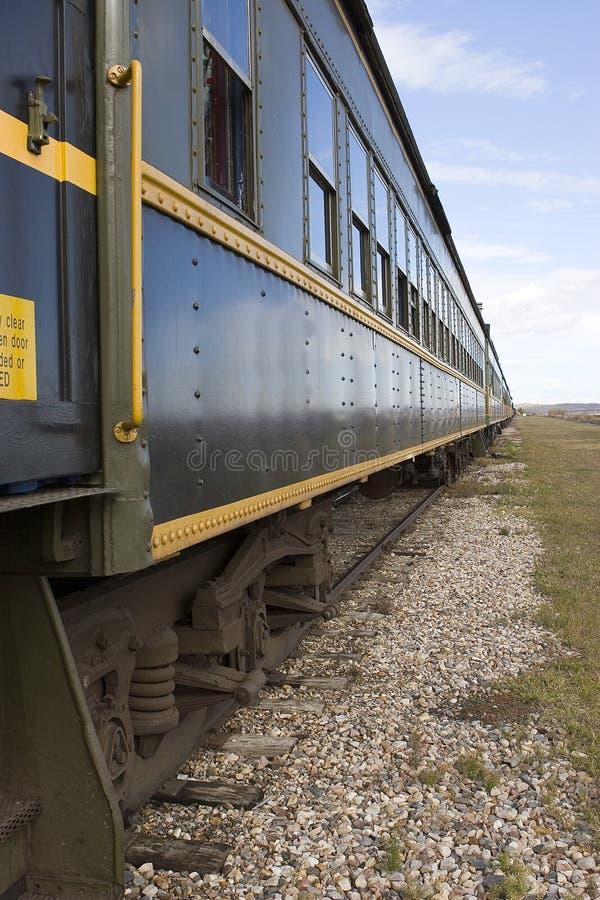 Bahnpersonenkraftwagen Stockfotografie