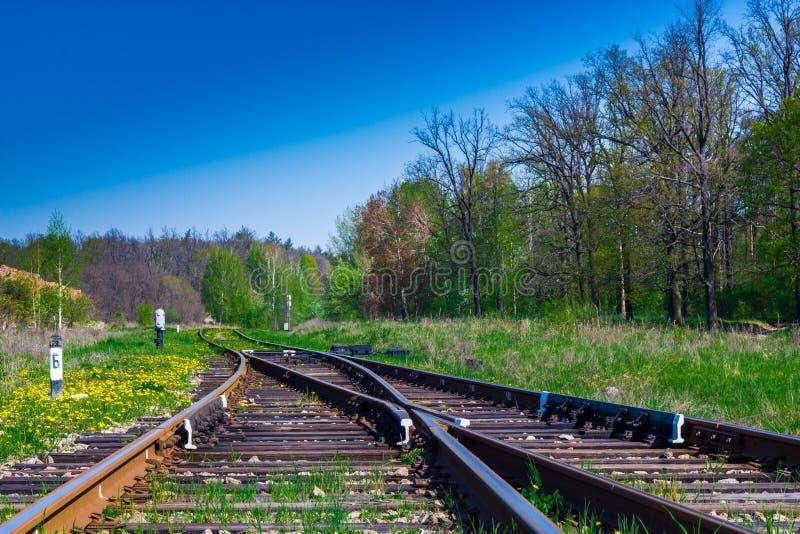 Bahnpfeile lizenzfreies stockfoto