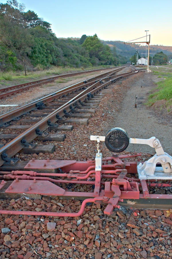 Bahnschalter lizenzfreie stockbilder