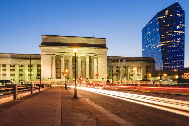 Bahnstation Philadelphia lizenzfreies stockfoto
