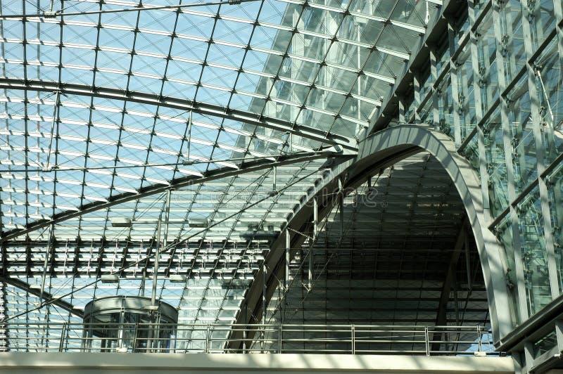 Bahnstationdetailschuß stockfoto