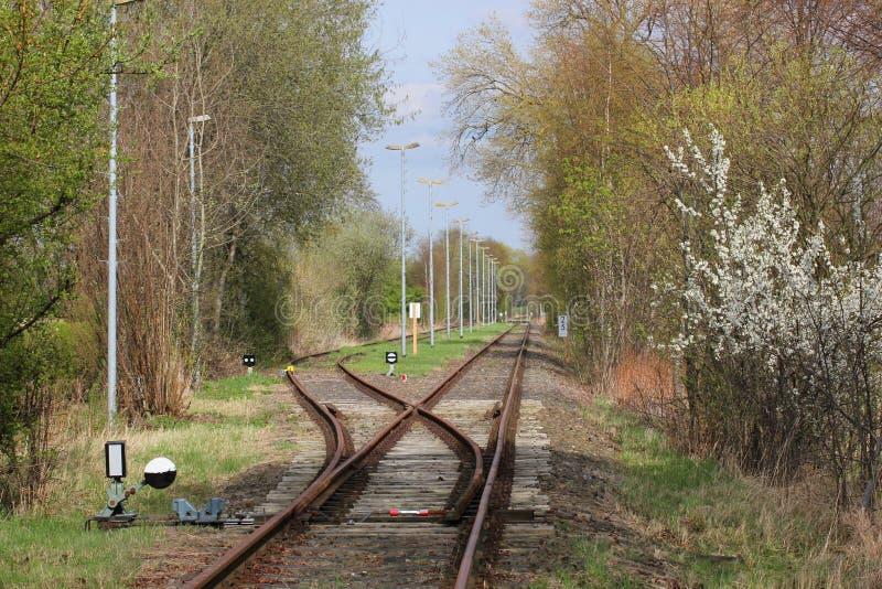 Bahnstrecke lizenzfreie stockfotos