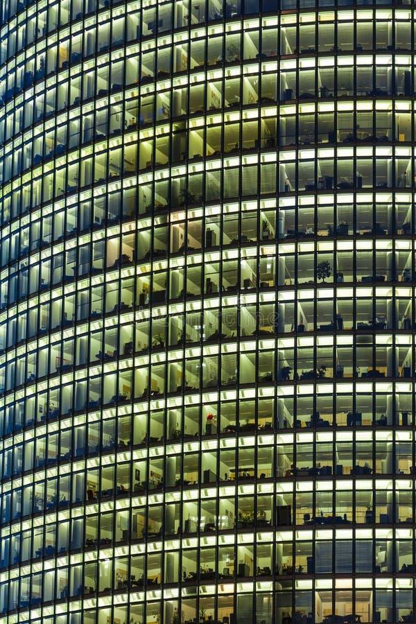 Bahntower, gratte-ciel sur Potsdamer Platz à Berlin, Allemagne image libre de droits