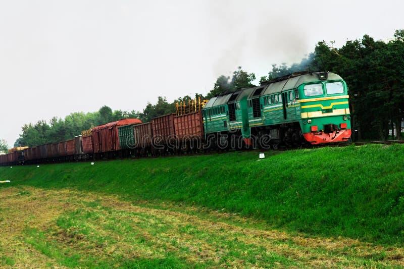 Bahntransport stockfotografie