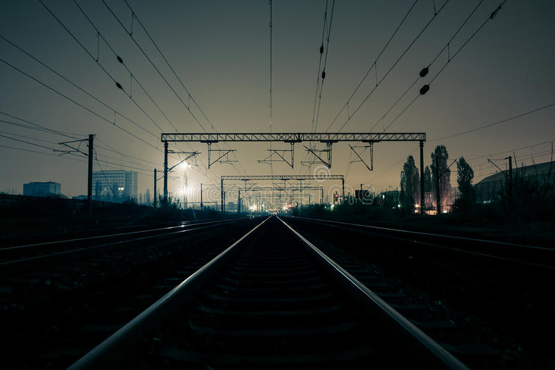 Bahntransport lizenzfreie stockfotos