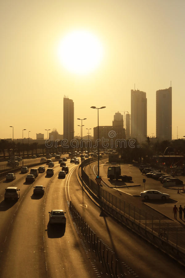 Bahrain City Skyline stock photography