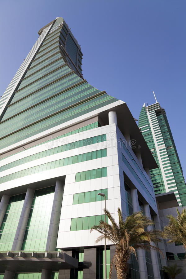 Bahrain Financial Harbour, Manama, Bahrain Royalty Free Stock Photo