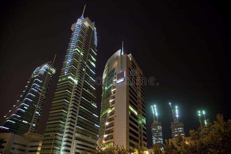 Bahrain Financial Harbour at Night, Bahrain