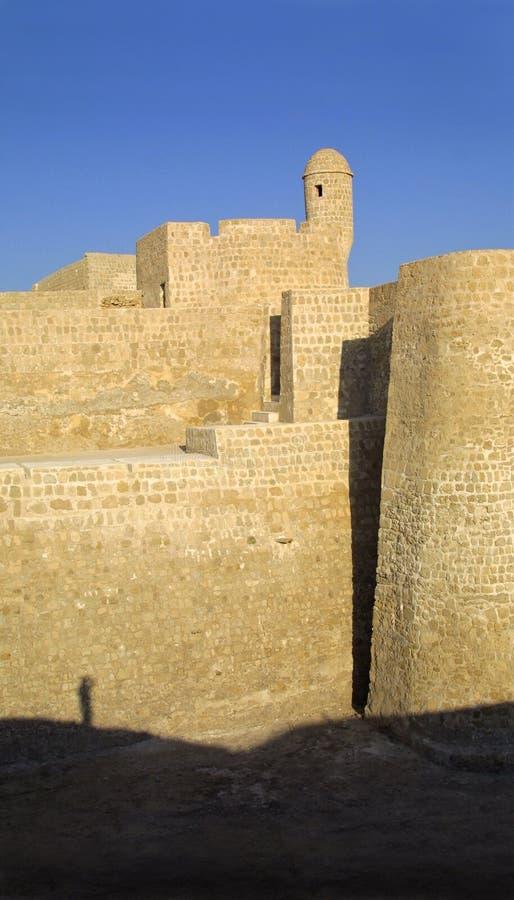 Bahrain Fort royaltyfri fotografi
